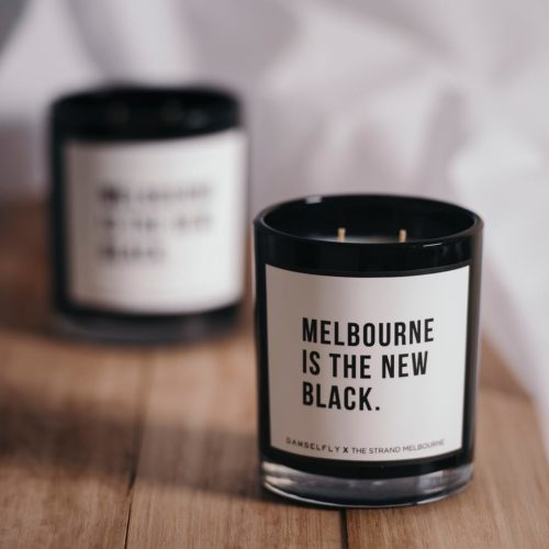 We've collaborated with @damselfly_official to create this limited edition beauty! Yours when you spend during our Christmas Shopping Event next week. See link in bio👆🏽 . . . #melbourne #seeaustralia #melbxmas #melbmoment #melbourneshopping #thestrandmelbourne #visitmelbourne #damselfly #candle #rundontwalk