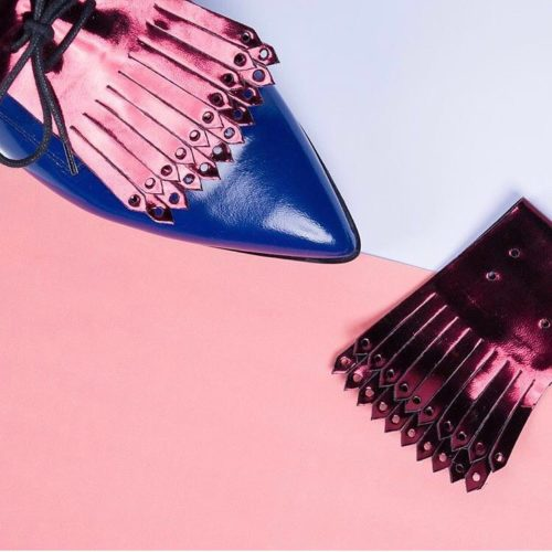 One pair of shoes, endless possibilities. Give your shoes a new look with a shoe fringe!